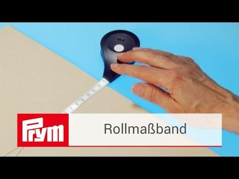 Präzises Werkeln mit dem ergonomischen Prym Rollmaßband | Prym Zubehör