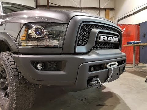 RAM Rebel Integrated Winch System - VICE