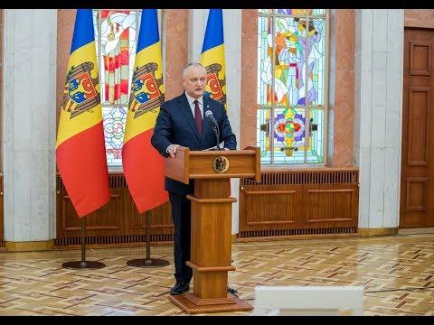 Președintele Republicii Moldova s-a adresat cu un apel către cetățeni
