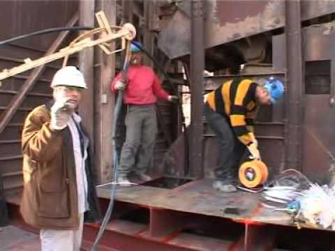 Tubería Pex para desagüe de aguas subterráneas en la mina de cobre de Timna