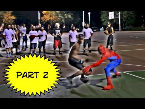 basketball - Episode #2 'The Black Rock' After Peter Parker hears naysayers talk bad about his game at a local playground basketball court using his spidey senses, he rus...