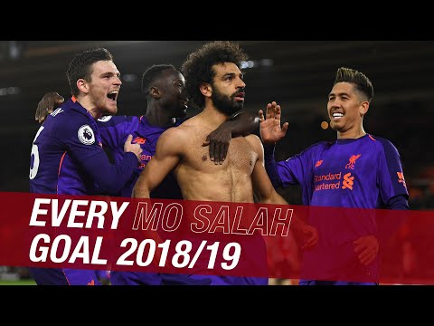 Every Mo Salah Goal From The 2018/19 Season | Chelsea Screamer, CL Final Penalty And More