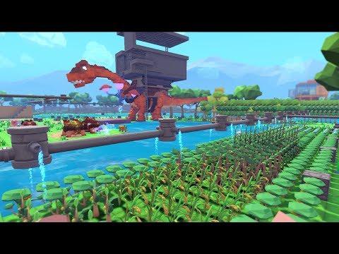 PixARK #5 - Xây Nhà Nuôi Khủng Long Dưới Lòng Đất ^_^ - Thời lượng: 1:25:40.