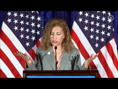 DNC Chair Debbie Wasserman Schultz's Inaugural Speech thumbnail