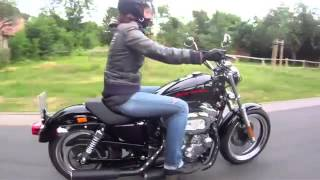 4. Harley Davidson Sportster Super Low XL883L