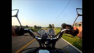 9. cb750 nighthawk speed test