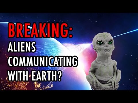 Alien ETs Using Cosmic Rays To Communicate With Earth?