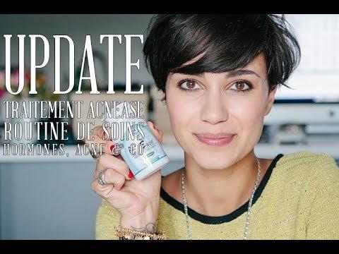 Update Acnease / routine de soins / hormones &co