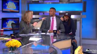 Lil Jon Serenades George Stephanopoulos on 'GMA'