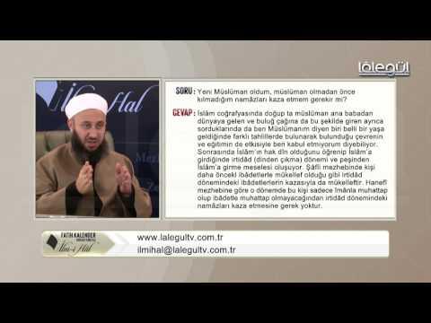 Yeni müslüman oldum, kılmadığım namazları kaza etmem gerekir mi ?