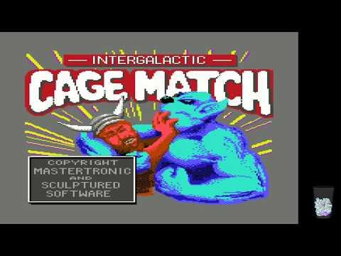 Commodore 64 Crypt - Intergalactic Cage Match