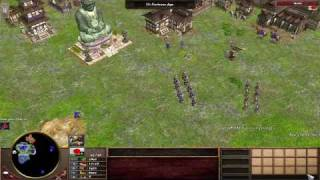 Age of Empires III The Asian Dynasties official gameplay trailer - The japanese HD720p