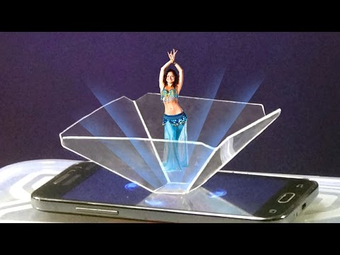 Turn Your Smart Phone Into A 3D Hologram |