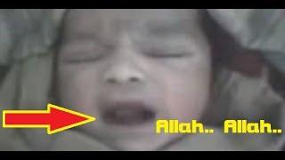 Video SubhanaAllah! Baru Lahir di Dunia Bayi Ajaib Ini Sebut Nama 'ALLAH' Tanpa Henti! MP3, 3GP, MP4, WEBM, AVI, FLV Desember 2017