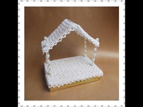 uncinetto - capanna del presepe
