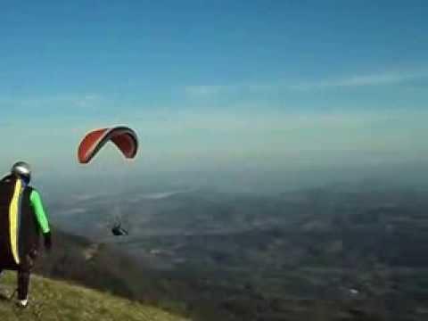 voo de parapente em igrejinha rs, piloto Thiago correa