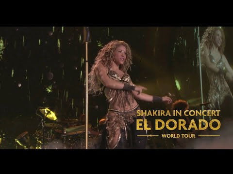 Shakira - Whenever, Wherever (Live In Concert El Dorado)