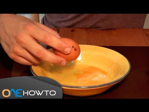 How to Empty an Egg Without Breaking the Shell