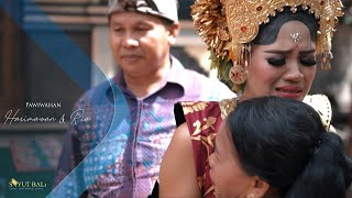 Upacara Pawiwahan Harimawan   Ria   Sayut Bali