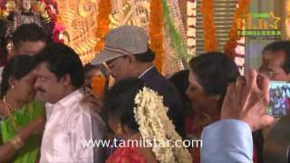 Actor Pandiarajan Son Pallavarajan Wedding