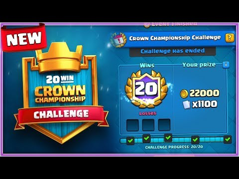 NEW 20 WIN SUPER CHALLENGE! CLASH ROYALE UPDATE INFO!
