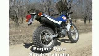 4. 2012 Yamaha TW 200 - motorbike