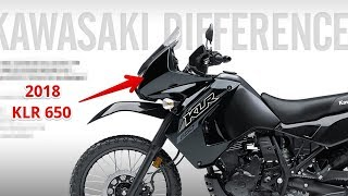 6. HOT NEWS !!! KAWASAKI 2018 KLR 650 PRICE & SPEC | Motorcycles Show