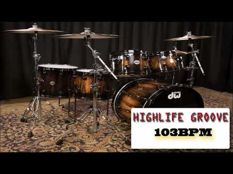 HIGHLIFE DRUM LOOPS 103BPM (for Rehearsals Drummers/Bassist/Keyboardist)