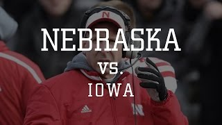 Week 12 - Nebraska at Iowa 2014