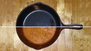 Video Cast Iron Restoration, Seasoning, Cleaning & Cooking. Cast Iron skillets, griddles and pots. MP3, 3GP, MP4, WEBM, AVI, FLV Juli 2019