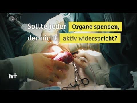 Jeder wird zum Organspender - heuteplus | ZDF