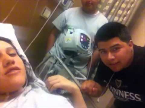 kaysee all fucked up on anesthesia