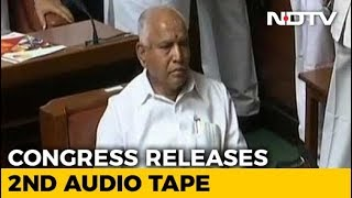 Video Congress Releases More Tapes, Says Yeddyurappa Tried To Poach Lawmaker MP3, 3GP, MP4, WEBM, AVI, FLV Mei 2018