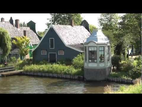 Zaanse schans in high definition