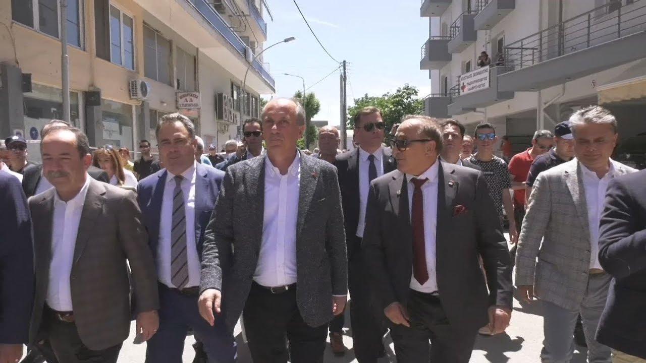 Κομοτηνή: Ολοκληρώθηκε η επίσκεψη του υπ. προέδρου της Τουρκίας Μουχαρέμ Ιντζέ