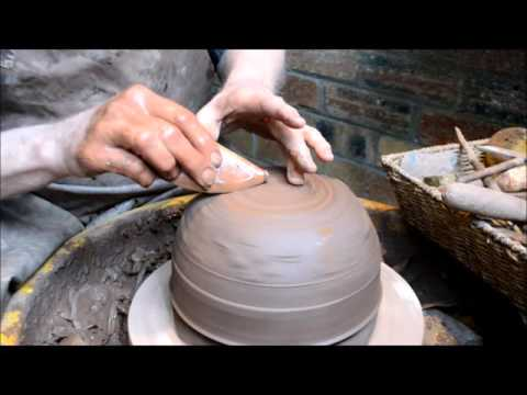 Roman Samian Pottery Making by Potted History