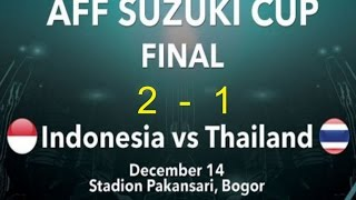 Video INDONESIA VS THAILAND 2-1  Leg 1 FULL MATCH 1080p MP3, 3GP, MP4, WEBM, AVI, FLV Juli 2018