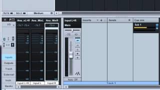 PreSonus Studio One Pro 2. Монтажный микс Cue Mix