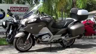 4. Pre-Owned 2011 BMW R1200 RT in Ostra Grey at Euro Cycles of Tampa Bay