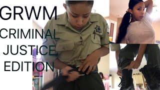 GRWM: CRIMINAL JUSTICE  EDITION | IRIS MONROE