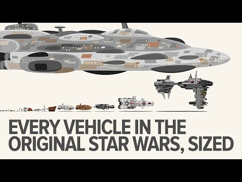 Illustrated Video Of Every Star Wars Vehicle From The Original Trilogy Drawn To