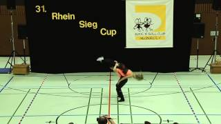 Nantje Frerichs & Stefan Gall - 31. Rhein-Sieg-Cup 2013