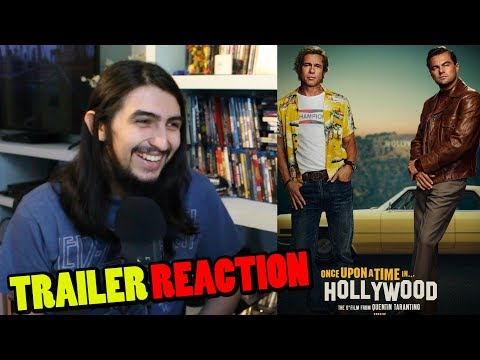 Once Upon A Time In Hollywood Teaser Trailer REACTION and REVIEW! (2019 Tarantino Movie)