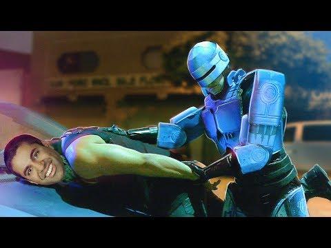 RoboCop Protects The Internet (видео)
