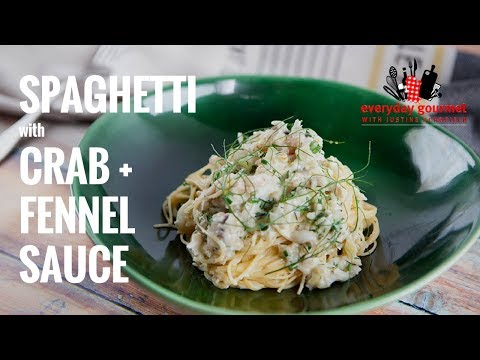 Spaghetti with Crab and Fennel Sauce | Everyday Gourmet S7 E14