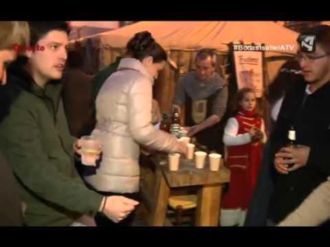 Aragón Televisión - La morra en Las Bodas de Isabel 2016