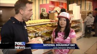 National Doughnut Day At Amy's Donuts (1)