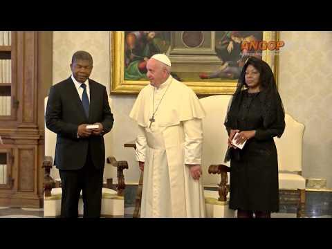 Papa e Presidente angolano abordam cooperação