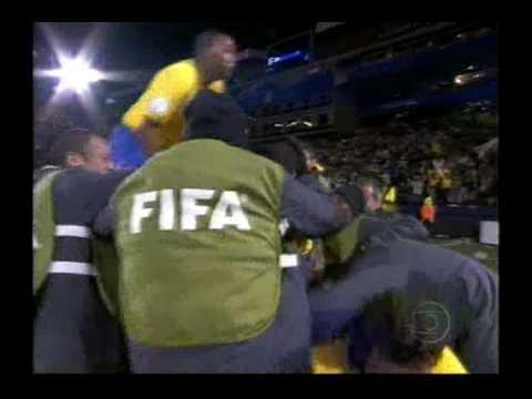 Lucio en la Copa Confederaciones 2009