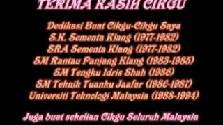 TERIMA KASIH CIKGU - Nazz Abdul Aziz